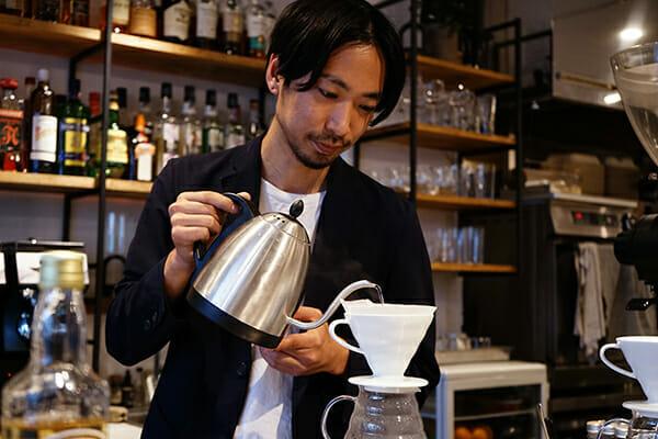 コーヒーコーディアルをつくる