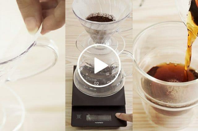 ハンドドリップの美味しいコーヒーの入れ方のWebストーリー