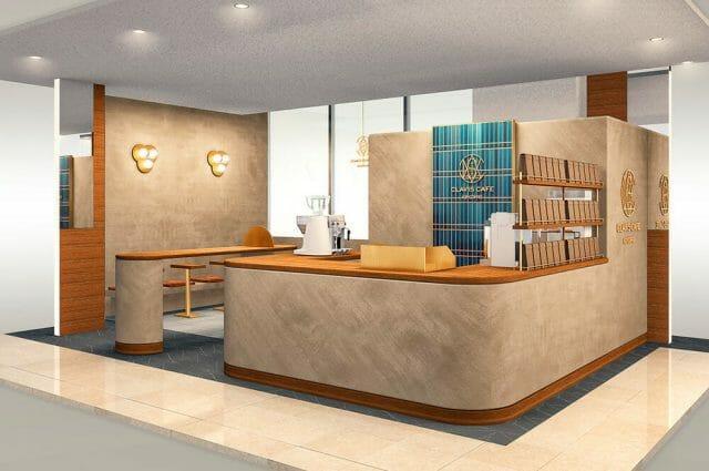 キーコーヒー「CLAVIS CAFE KEY COFFEE」伊勢丹浦和店にオープン