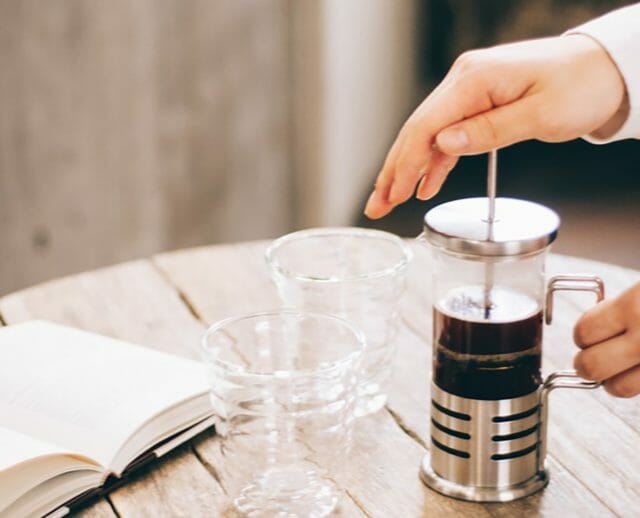フレンチプレスでコーヒーを美味しく入れるコツ