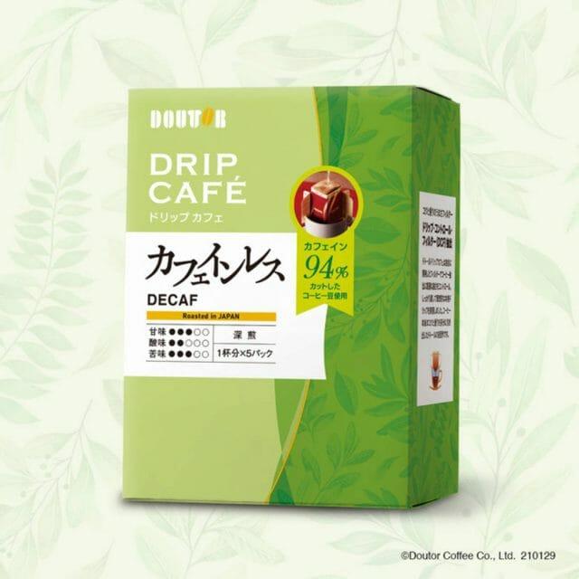 ドトールコーヒーから「カフェインレスコーヒー」のドリップカフェが新登場