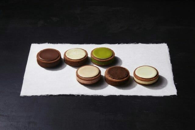 自慢の「ルナサンドクッキー」がバレンタイン限定ラッピングで登場