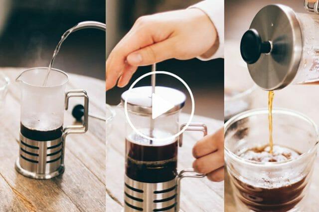 フレンチプレスで入れるおいしいコーヒーのコツ Webストーリー