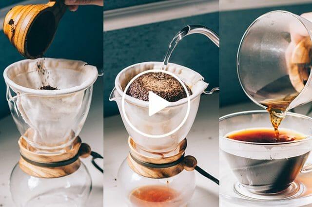 ネルドリップの美味しいコーヒーの入れ方