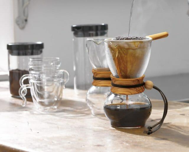 コーヒーの入れ方の「透過法」って?
