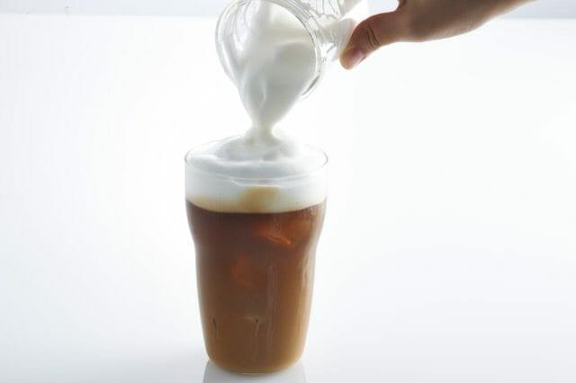 さまざまな味わいのミルク