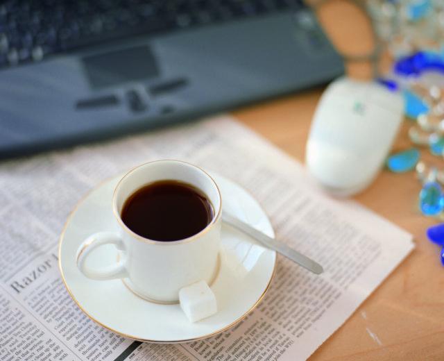 お気に入りのカップでコーヒータイムを楽しもう