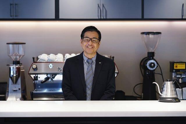 「UCCコーヒーアカデミー」講師の川口雅也さん