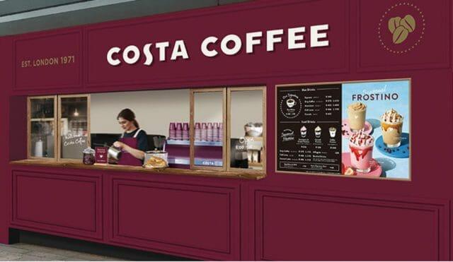 ヨーロッパNo.1カフェブランド「コスタコーヒー」のテイクアウト専門店オープン