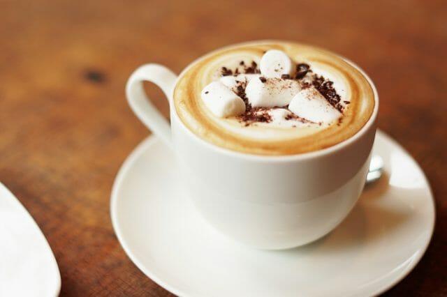 マシュマロコーヒーをアレンジ