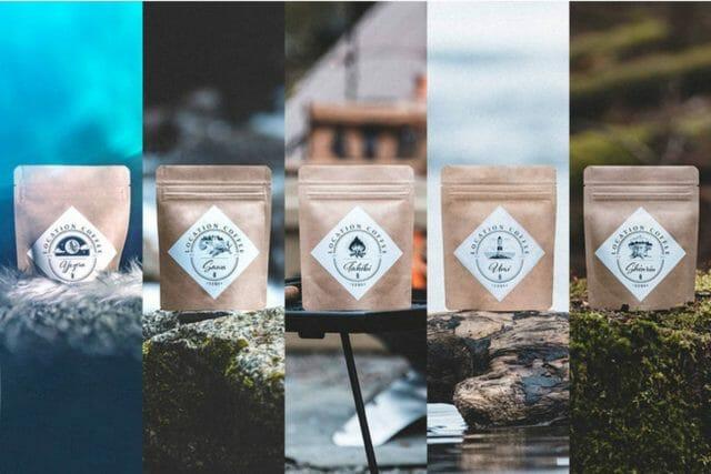アウトドア専用のコーヒー豆「LOCATION COFFEE」が一般販売開始