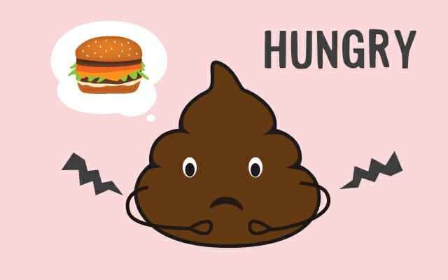 空腹が犯人
