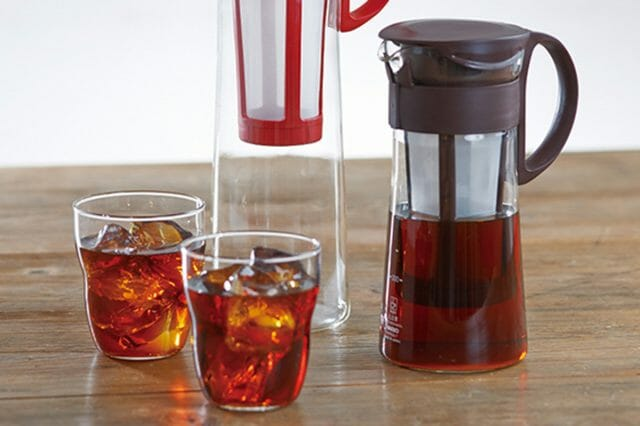 自宅でアイスコーヒーと水出しコーヒーの味の違いを楽しもう