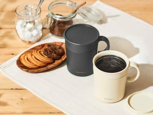 いつでも美味しいコーヒーを!ありそうでなかったマグカップが登場