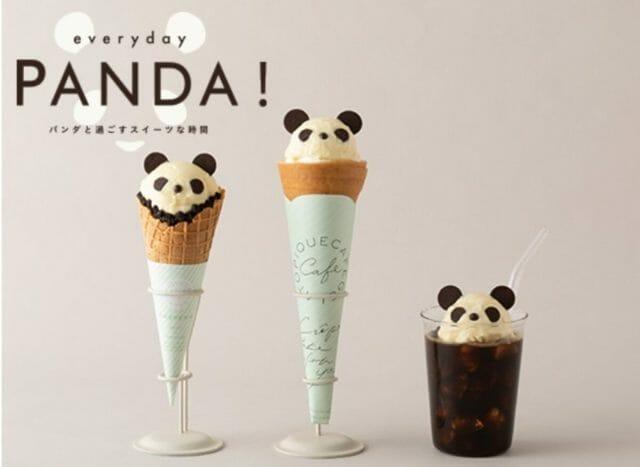 gelato pique cafeのパンダスイーツが可愛すぎて悶絶!