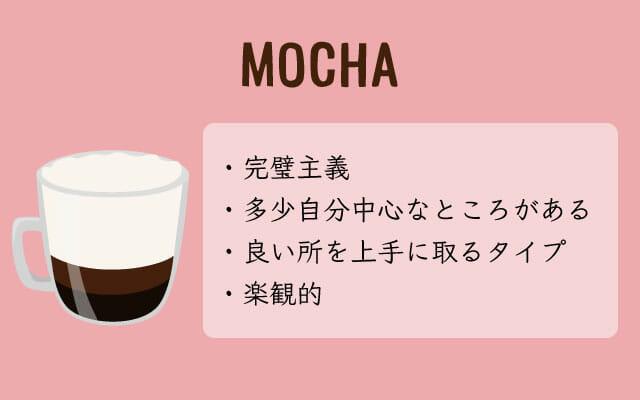 カフェモカが好きな人は