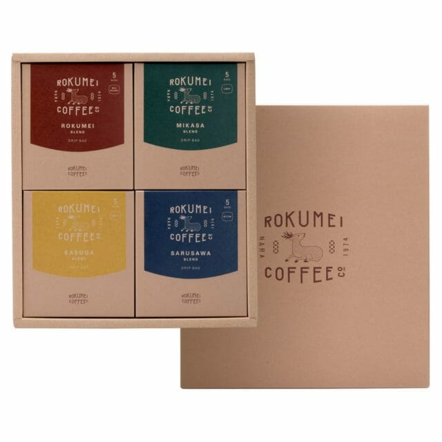 敬老の日に贈りたい「ROKUMEI COFFEE CO.」のギフトセット