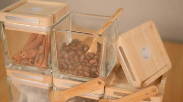 コーヒー豆の劣化を防ぐ『魔法のキャニスター CUBES』が日本に初上陸!